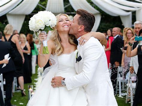 american wedding group salary dwts kym johnson and robert herjavec get married people