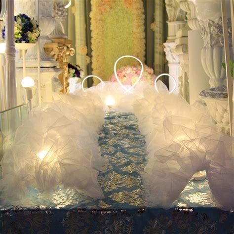 Wedding Aisle Decorations Nz by 5m Snow Cloud White Wedding Aisle Decoration Runner