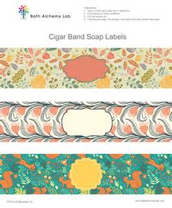 cigar label template 5 best images of free printable soap wrappers