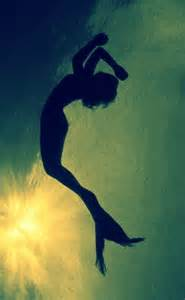Mermaid silhouette imagine pinterest mermaids break free and