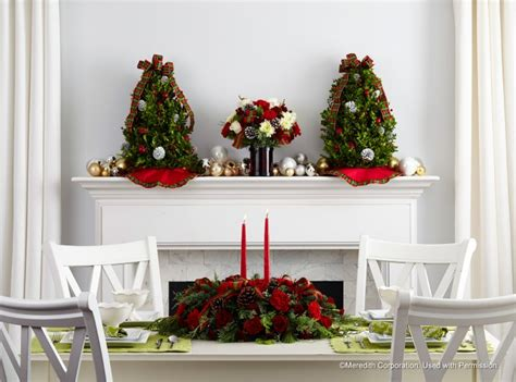 better homes and gardens christmas decorations ten unique ways to incorporate floral into your holiday