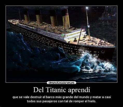imagenes del otoño aprendi del titanic aprend 237 desmotivaciones