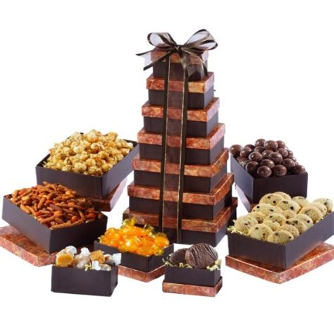 Where To Get The Best Deal On Gift Cards - broadway basketeers lasting impressions gift tower