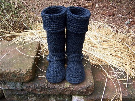 crochet boots crochet boots 16 to 19 inches by beautifulpurpose on etsy