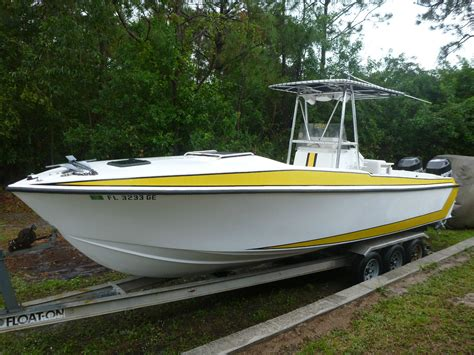 scarab boats sale 26 center console scarab type boat 1988 for sale for