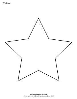 printable images of a star free printable star templates for your art projects use