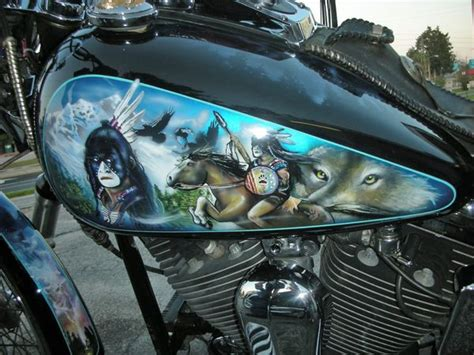 Custom Paint Harley Davidson Motorcycles by Unique Motorcycle Motorcycles Custom Paint Harley