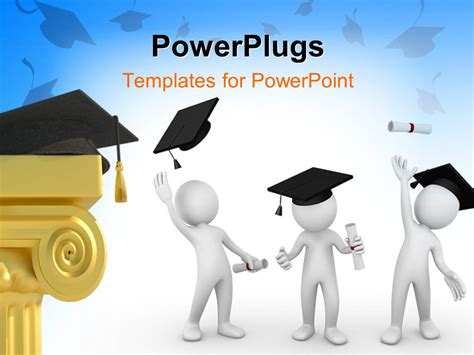 Graduation Powerpoint Templates 28 Images Powerpoint Template Graduation Cap On Stack Of Graduation Powerpoint Template