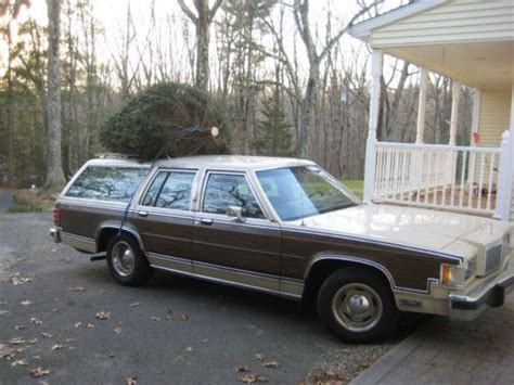 automobile air conditioning service 1985 mercury grand marquis regenerative braking sell used 1985 mercury grand marquis colony park station wagon in amston connecticut united states