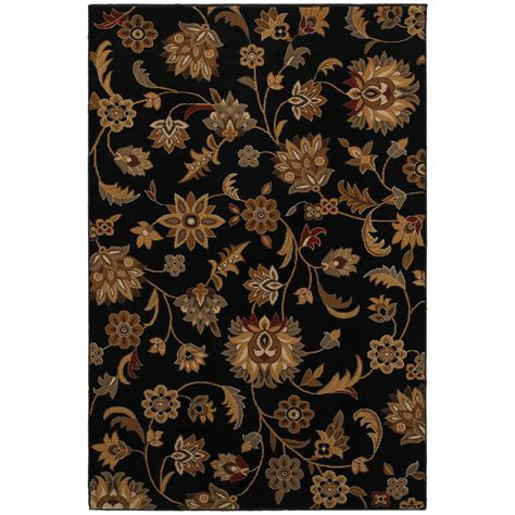 Black Floral Area Rug Mohawk Home Blackbourne Black Floral Area Rug Myideasbedroom