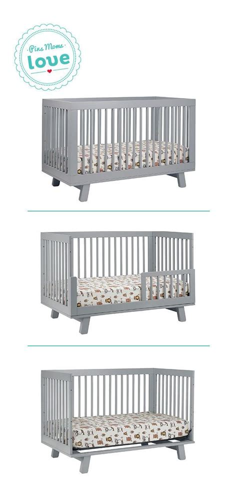Bassinet Converts To Crib The Babyletto Hudson 3 In 1 Convertible Crib Converts To A Toddler Bed Or Daybed Get It Now For