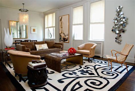 club living room eclectic living room with hardwood floors by jessica