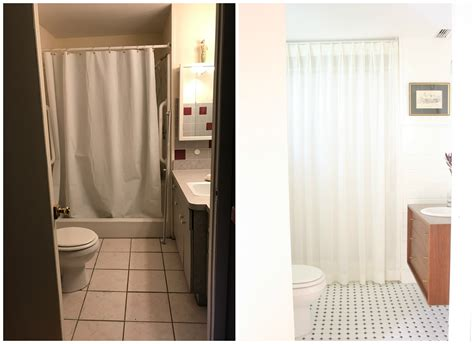 Bathroom Makeover Company by My Black And White Bathroom Makeover Mimzy Company