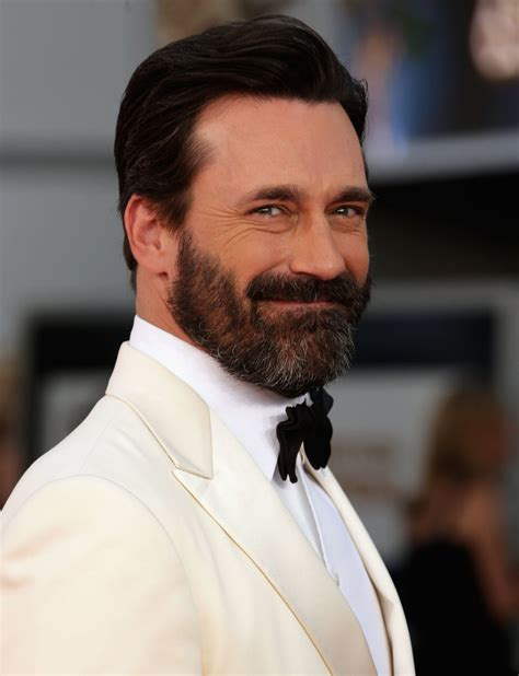 jon hamm beard celebrity entertainment jon hamm keeps a well groomed