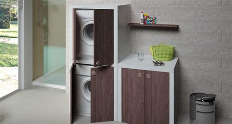 mobile lavatrice asciugatrice mobile lavatrice e asciugatrice sovrapporli o affiancarli
