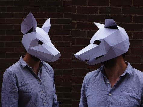 How To Make A Mask Using Paper - steve wintercroft s gorgeous diy paper masks are the