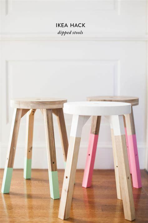 taburete madera ikea 15 formas geniales de transformar muebles de ikea