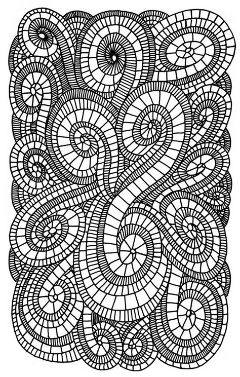 coloring pages swirls az coloring pages