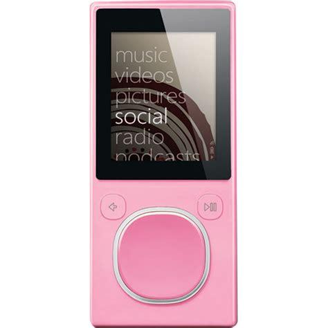 A More Pleasing Pink Zune by Microsoft Zune 8gb Pink 2nd Generation Hva 00005 B H Photo
