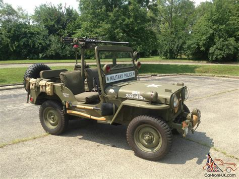 1952 Willys Jeep 1952 Jeep Willys Cj 3 Restored