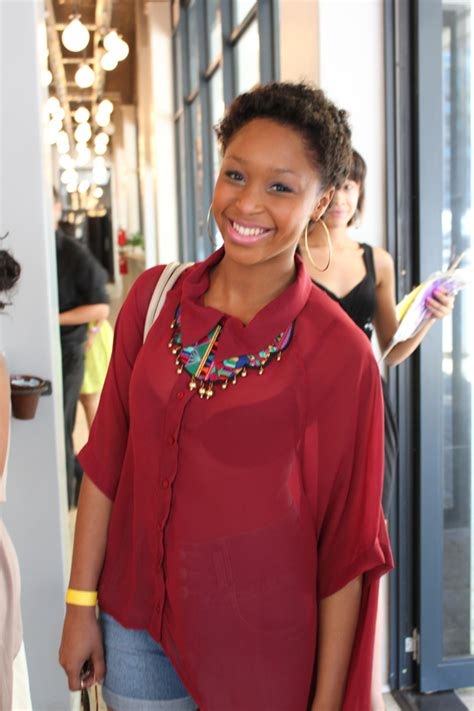 minnie dlamini hairstyles try a more laid back look this valentine s day a la