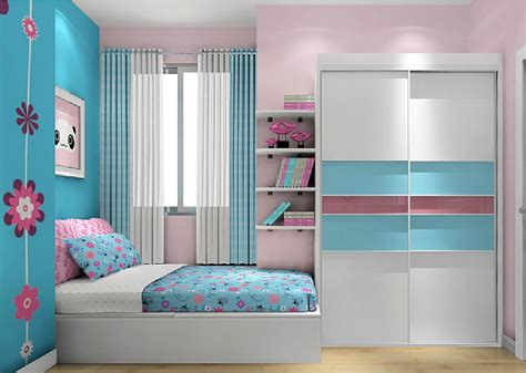 pink and blue bedroom ideas 3d rendering of bedroom walls pink and blue 3d house