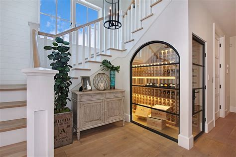 under stair case wine cooler 20 eye catching under stairs wine storage ideas
