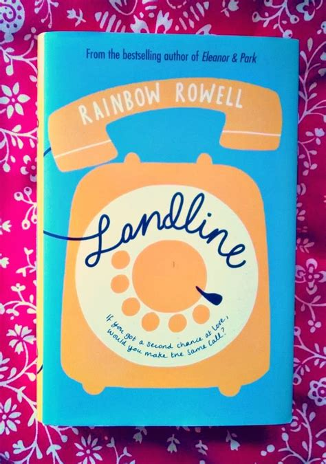Landline Oleh Rainbow Rowell 1 the book is home book review landline by rainbow rowell