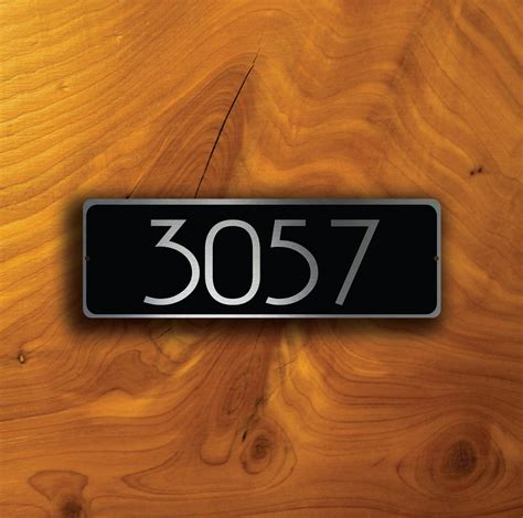 Custom Door Signs by Custom Door Number Sign Decamoda