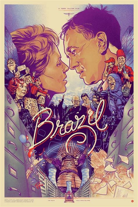 terry gilliam prints brazil movie poster by martin ansin if you haven t seen