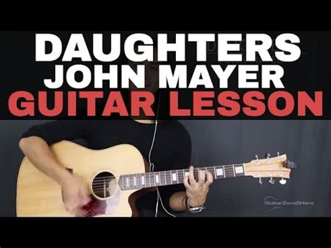 guitar tutorial vire weekend john mayer love on the weekend guitar lesson acoustic
