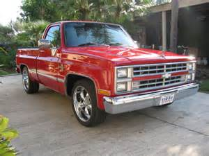 Power Wheels Chevy Truck For Sale 1985 Chevrolet C10 Silverado Shortbed V8 All Power Custom