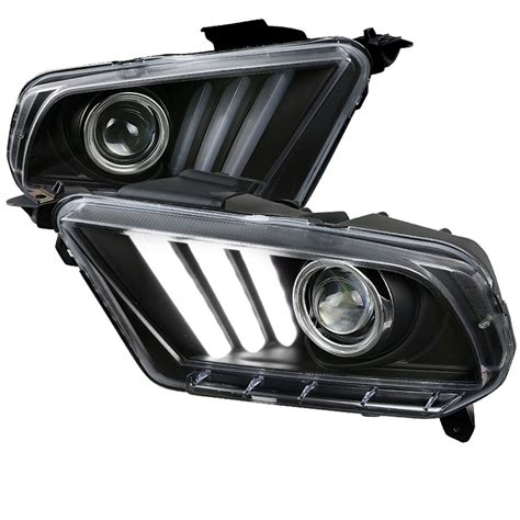 2016 mustang sequential lights mustang headlight projector 2015 style led sequential