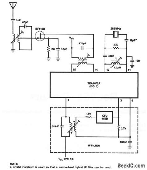 integrated circuit tester circuit diagram integrated am receiver measuring and test circuit circuit diagram seekic