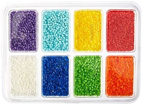 perler 80 17529 mini tray rainbow import it all