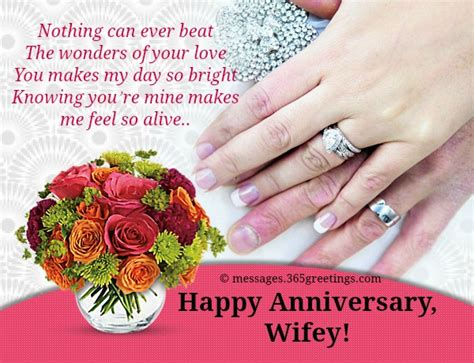 Wedding Anniversary Greetings And Messages by Anniversary Messages For 365greetings