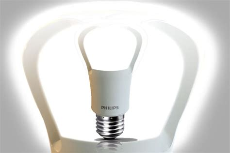 Lu Philips Led 6 Watt philips to unveil the world s true led replacement for the 75 watt light bulb led