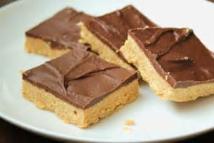 Peanut Butter Bars With Chocolate On Top by Delicious As It Looks Low Fructose Chocolate Peanut