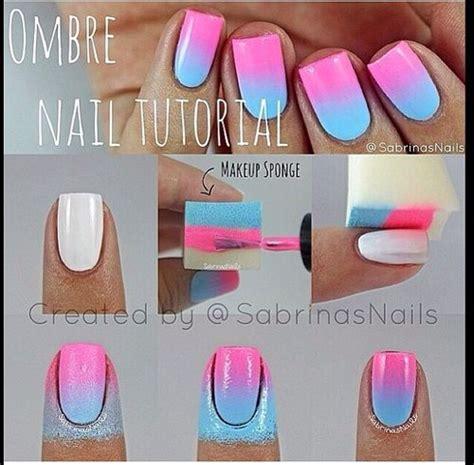 easy nail art using sponge 15 dise 241 os de u 241 as para primavera paso a paso ε