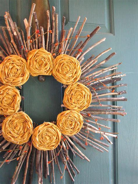 Wreath Handmade - 25 gorgeous handmade fall wreaths the 36th avenue
