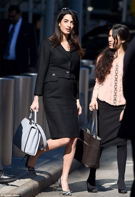 High Heels Krd14 Silver Lucky Six amal clooney is starting to show at the un