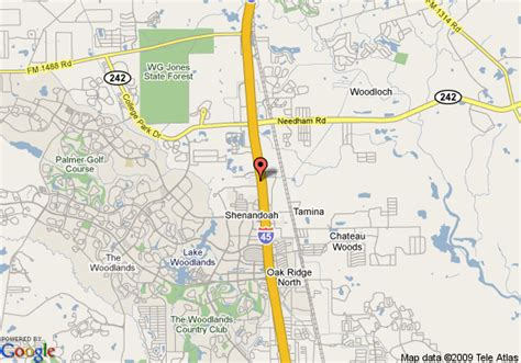 conroe texas map map of comfort suites near the woodlands conroe