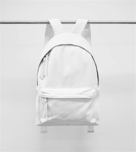 themes tumblr white chris st white leather backpack