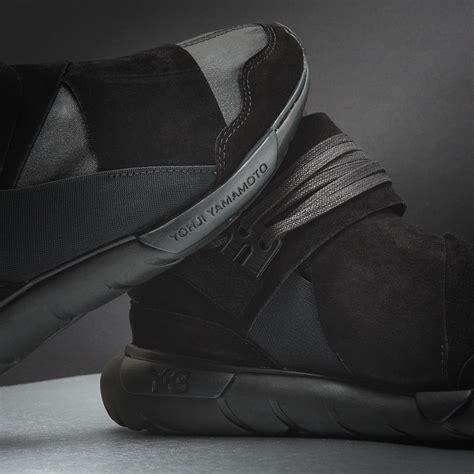 Adidas Y 3 Qasa High Blackwhite Premium High Quality 1 adidas y 3 qasa high premium black sneaker bar detroit