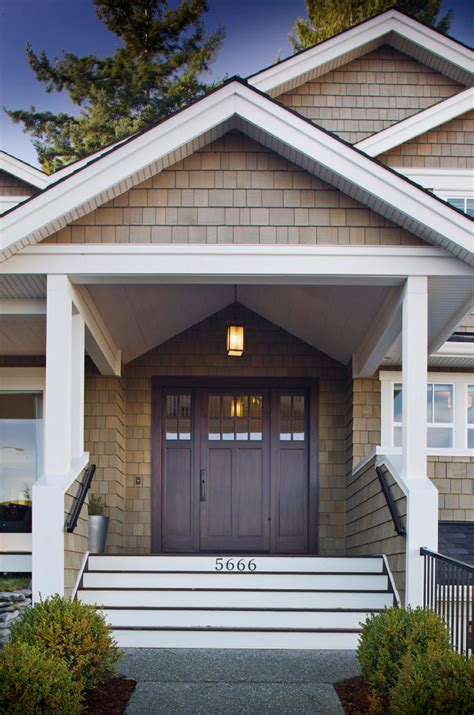 craftsman style front porch stairs craftsman style front elegantly beautiful craftsman style front doors to be