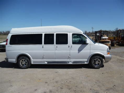 2008 chevy express explorer 3500 conversion 9 passenger