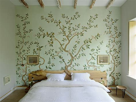 floral wallpaper  mural ideas