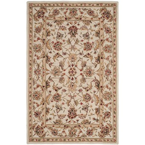 Area Rug 6 X 9 Safavieh Chelsea Ivory 6 Ft X 9 Ft Area Rug Hk78c 6 The Home Depot