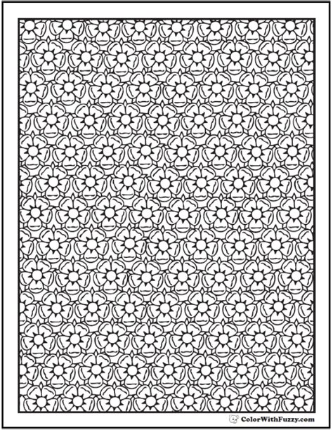 coloring pages for adults difficult flower 42 coloring pages customize printable pdfs