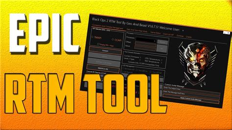 Rtm Giveaway - bo2 ps3 best rtm tool 1 19 by geo and beast download giveaway youtube